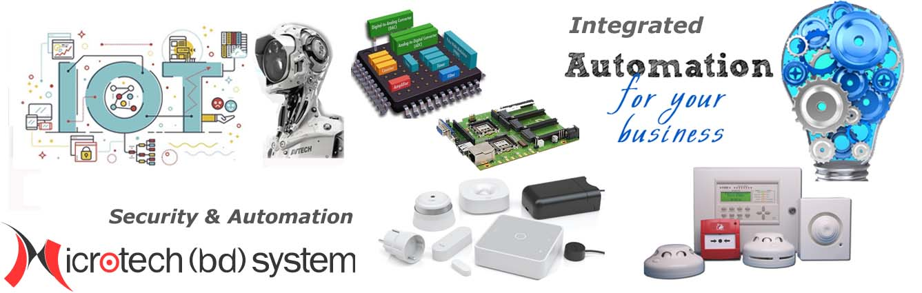Security System, Automation, Embedded Contoller Desing, IOT Solution in Bangladesh