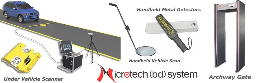 Archway Gate, Metal Detector, Under Vehicle Scanner, Luggage Scaner Solution in Bangladesh, Metal Detector and Scanner in Bangladesh, mcd300, handheld metal detectors, Meta Detector Solution BD, Scanner Gate BD, Gate Scanner bd,UVSS in BD