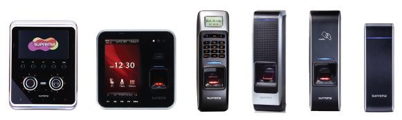 Suprema Access Control and Time Attendance Devices