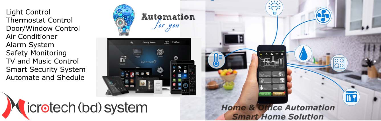 Home Automation BD, Smart Home Solution BD, Smart Hotel Room Automation BD, Office Automation BD, Home Automation Company BD